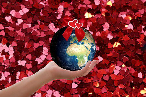 World, Hand, Heart, Keep, Love, Affection, World Peace