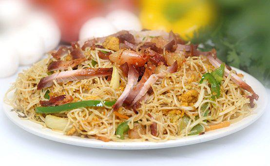 Singapore Vermicelli, Yummy, Asian Dish, Spicy