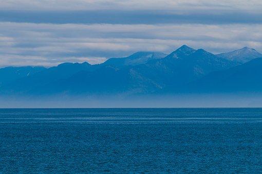 Usa, Alaska, Juneau, America, Mountains, Pacific