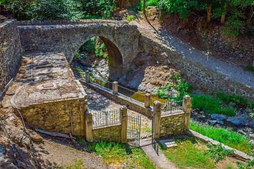 Bridge, Venetian, Medieval, Stone, Architecture
