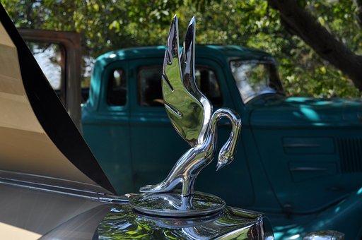 Automobile Hood Ornament, Vintage Car Hood Ornament