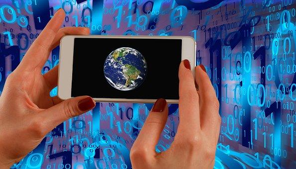Binary, Binary Code, Smartphone, Photography