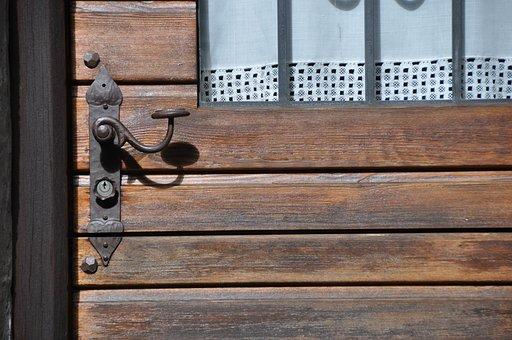 Door, Brown, Handle, Wooden, Open, Home, Closed, Wood