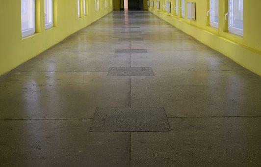 Corridor, The Window, Architecture, Building