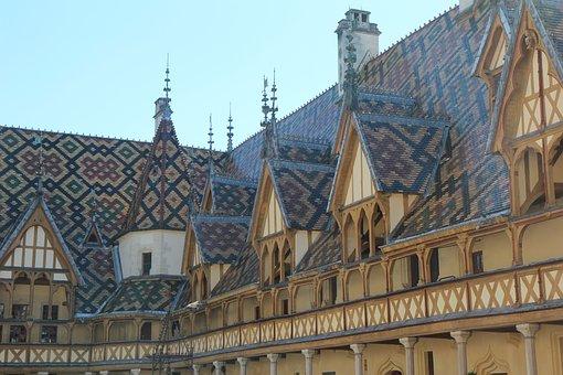 Beaune, Hospice De Beaune, Burgundy, Architecture
