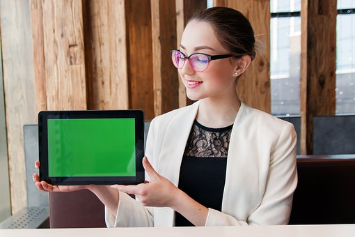 Girl, Woman, Young, Designer, Computer, Phone, Business