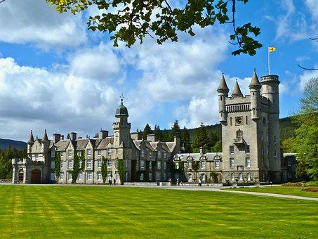 Palace, Balmoral, Castle, Scotland, Architecture