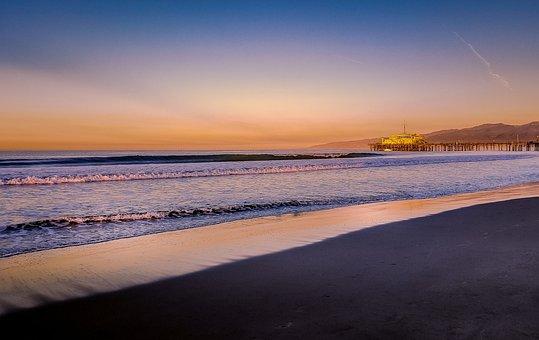 California, Los Angeles California, Beach, Colors