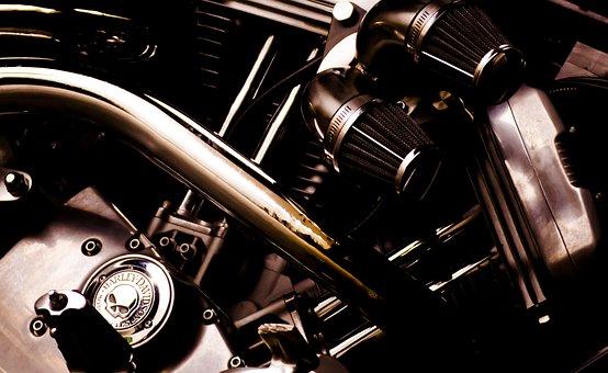 Engine, Harley Davidson, Harley, Motorcycle, Moto