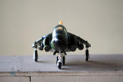 Air, Craft, Vehicle, Model, Jet, Fighter, Toy, Figurine