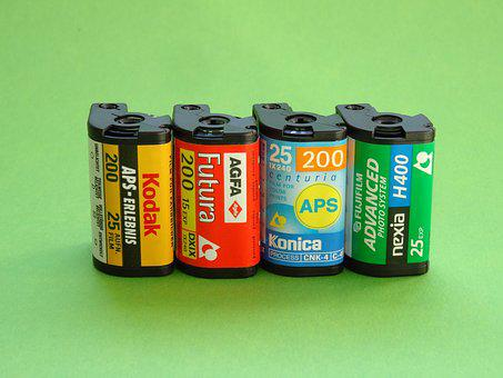 Film, Negative Movie, Analog, Kleinbild Film, Aps