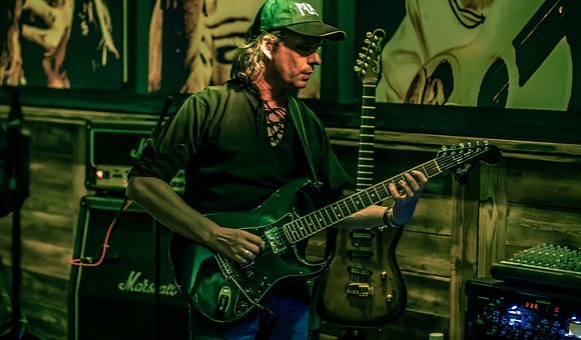 Musician, Guitarist, Music, Play, Band