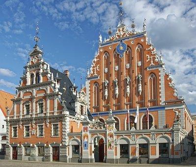 Latvia, Riga, House Of The Blackheads, Historic Center
