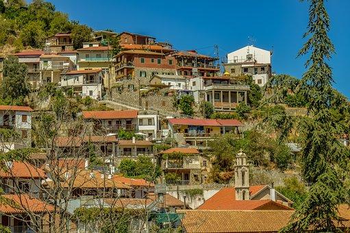 Cyprus, Kalopanayiotis, Village, Architecture, Houses