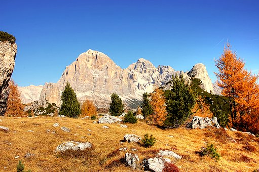 Dolomites, Mountains, Italy, Landscape, Nature