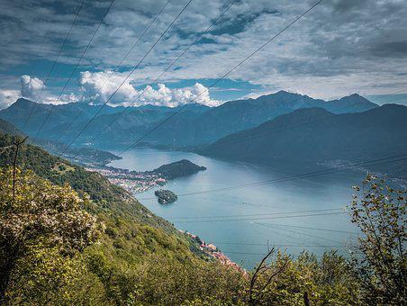 Lake, Lago Di Como, Italy, Vacations, Historic Center