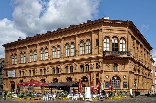 Latvia, Riga, Old Stock Exchange, Historic Center