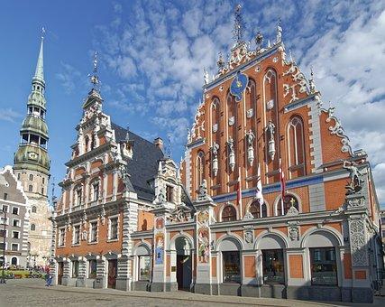 Latvia, Riga, House Of The Blackheads