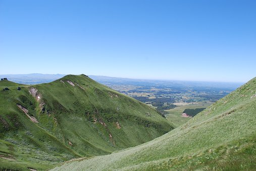 Holiday, Landscape, Auvergne, Massif Central, Volcano