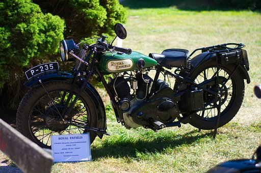 Motorcycle, Retro, Old, Motor, Classic