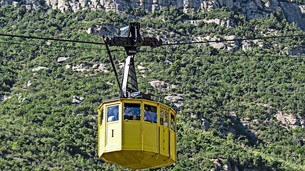Cable Car, Transport, Fun, Mountain