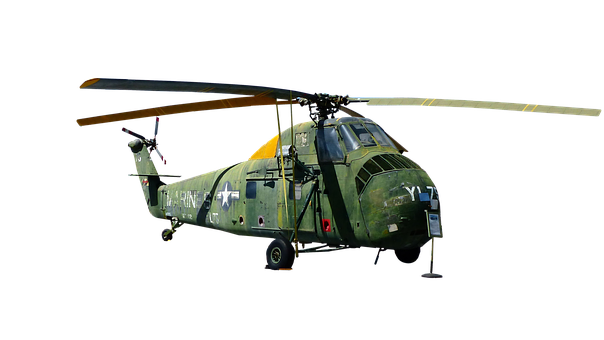 Helicopter, Combat, Age, Museum, Old, The Story