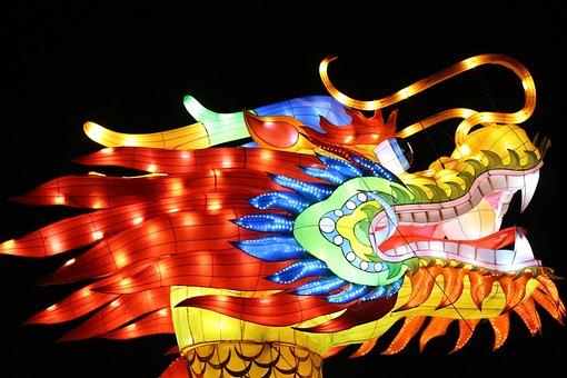 Dragon, Light, Fantasy, Fairytales, Dragons, Mystical
