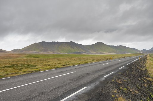 Iceland, Mountains, Landscape, Nature, Clouds
