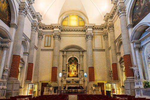 Church, Altar, Believe, Religion, Architecture