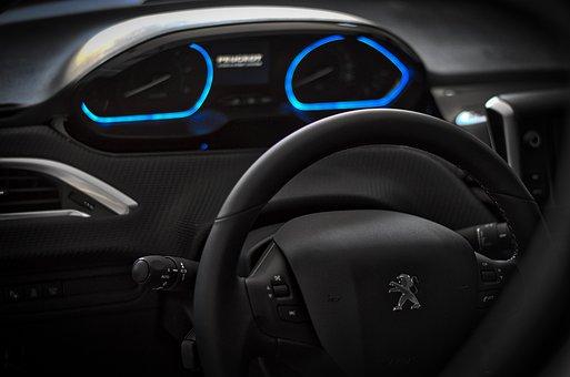 Auto, The Interior Of The, Automobile, Steering Wheel
