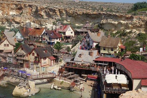 Malta, Village, Mediterranean