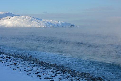 Teriberka, Barencevo Sea, Coast, Winter, Cold, North