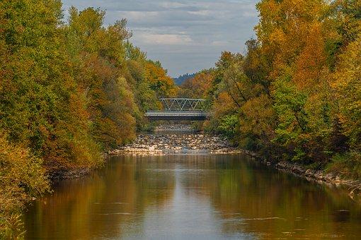 Nature, Landscape, Autumn, Autumn Colours, River