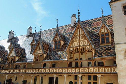 Beaune, The Hospices De Beaune, Burgundy