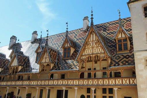 Beaune, The Hospices De Beaune, Burgundy