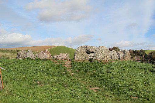 Archaeology, Burial Mound, Hill, Stonehenge, Stones