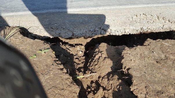 Foundation Damage, Water Damage, Cement Cracking