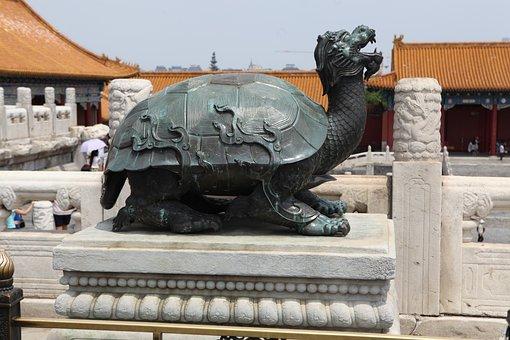 China, Bronze, Turtle, Asia