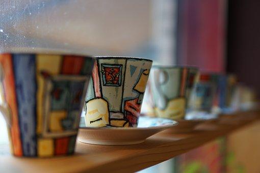 Mug, Coffee Cup, Cup, Coffee, Cafe, Shop, Disc, Latte
