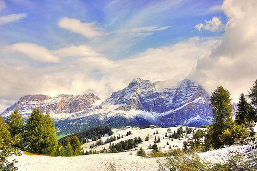 Dolomites, Pralongia, Alm, Nature, Enjoy, Idyllic