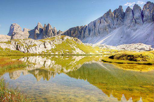Bödensee, Dolomites, Nature, Italy, South Tyrol