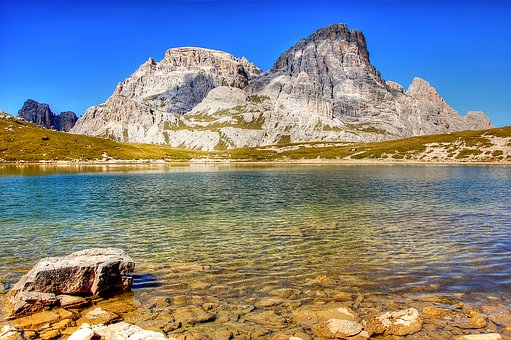 Three Schuster, Soils, Lakes,, Dolomites, Nature, Italy