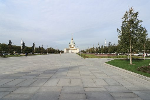 Enea, Monument, Vvc, Soviet, Moscow, Russia