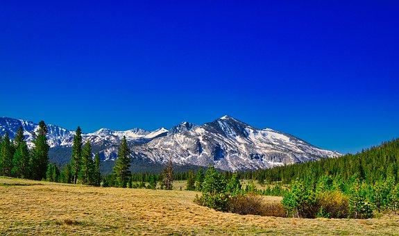 Mount Kuna Crest, Yosemite, Mountain, Landscape, Nature