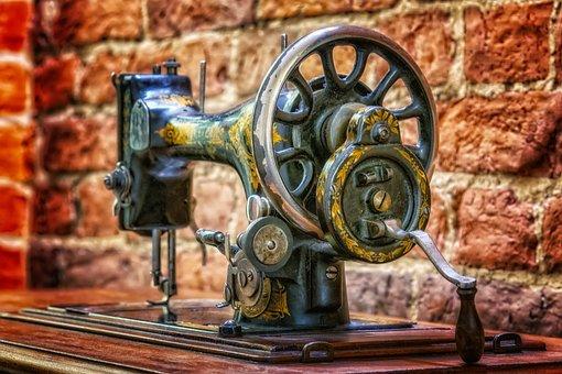 Sewing Machine, Sew, Craft, Needle, Hand Labor