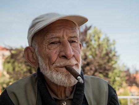 Old People, Sad People, Cigarette, Overview