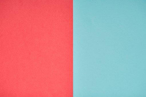 Red, Blue, Paper, Pattern, Texture, Design, Ground
