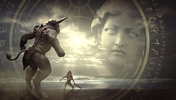 Fantasy, Sage, Fairy Tales, Creature, Threat, Risk