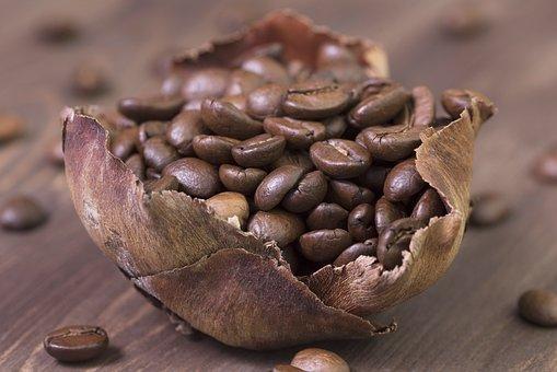 Coffee, Coffee Beans, Roasted, Cafe, Caffeine, Brown