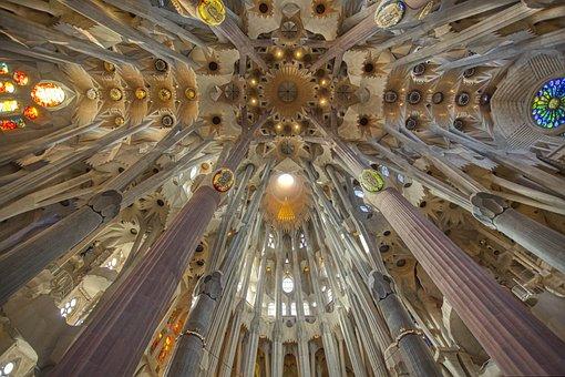 Barcelona, Architecture, Spain, Sagrada Família
